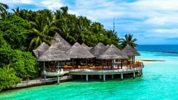 Dreaming Of A Tropical Vacation - A Sunny Holiday In The Maldives